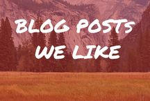 Blog Posts We Like (A Lot)