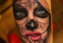Day Of The Dead Tattoo For Men