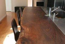 Tavolo di legno favoloso