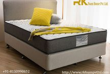 Mattress show room / RK Foam House Pvt. Ltd. is a well known Mattress showroom in Delhi offer Spring Care Mattress made with high density bonded foam for an enhanced experience glued with the PU foams for extreme comfort.