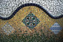 trencadis y mosaico