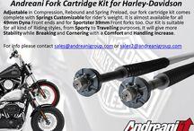 "Harley Davidson / Andreani ""Misano"" cartridge kit for Harley Davidson motorcycles"