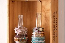 Home Storage Hacks / Tips and tricks for de-cluttering and organizing your home.