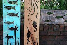 ξύλο δημιουργίες