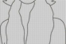 cross stitch damas5