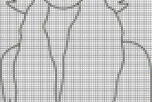 cross stitch damas5