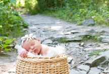 Newborns Outside (solo) / Inspiration for summer babies