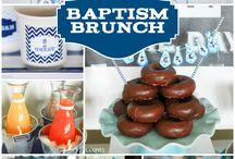 Baptism boy ideas