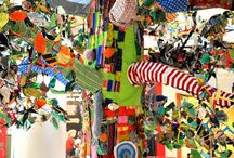 Yarn bombing / Crochet work