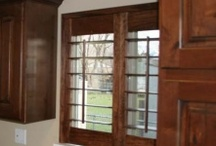 Window Shutters / Shutters for windows that are generally normal in shape and size. These have been built and installed in homes across the Wasatch Front.