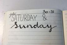 My own journals!