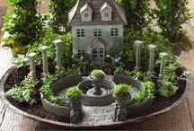 Fairy&miniature gardens / by Nataly Tursunbayeva