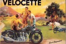 Vintage moto ads.