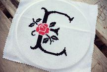 Cross stitch ✖️ / Kanaviçe, çarpıişi, etamin ✖️