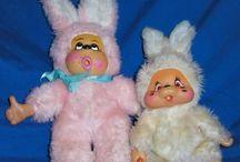 Plush bunny rabbit vintage
