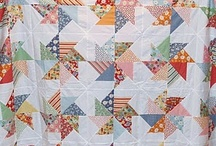 Quilty: Pinwheel Fever / Pinwheels... a very easy pattern to make!