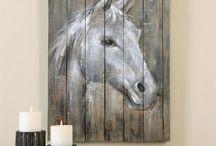 ζωγραφικη σε ξύλο