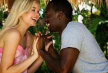 Interracial Couples / Date different! Wish all interracial couples have a forever love!