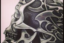 рисунки на шлем