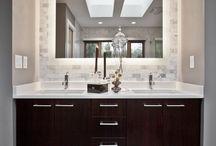 Condo master bath mirrors