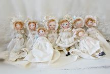 My new dolls of cotton... / My little wonders...filled with LOVE HOPE and Understanding...