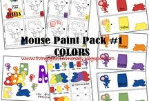 The mouse paint