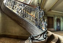 Stair cases and enterances
