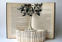 book art scalpture