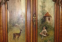 Painted  furniture and doors