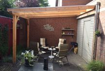 Houten veranda's