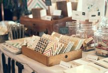 market stall display