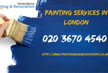 PerfectWorks Painting & Renovation / We are an remodeling company established in London. We provide wide variety of painting and refurbishment services.