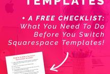 Small Business: Squarespace tips / Squarespace, Squarespace tips, web design, web platforms, business websites, small business websites, website development, blog websites
