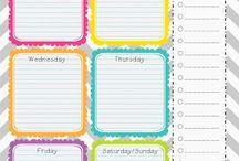Getting organised / Organisation