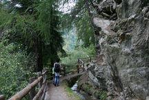 Wandern im Vinschgau / Inmitten einer wunderschönen Bergwelt im Vinschgau kann man wunderbar die Natur erwandern und genießen.