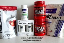 Suplements & Bodybuilding / We want to show you how much we have got supplements available which you can buy in our store on: www.gieldasuplementow.pl