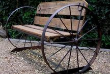 Wagon wheels ideas