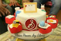 Flour Power by Elena / Theme cakes