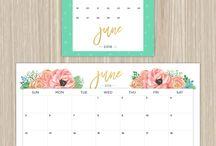 kreatív naptár, tervező