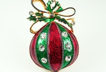 Christmas Jewelry / Old and new Christmas jewelry / by Lisa Hunt