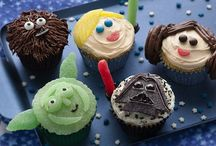 Birthday cupcakes for boys