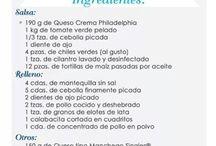 Recetas Saladas/Salty Recipes