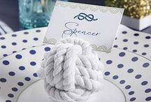 Nautical Themed Wedding / Get on board with these nautical wedding ideas! Whether you're wedding is by the water or you just want it to feel that way this is the perfect theme.  / by Love Wedding Planning