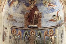 Carolingian and Romanesque paintings and architecture