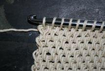 тунниское вязание