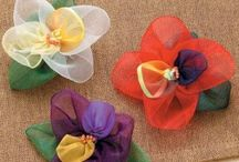 Fabric Flowers / by Jen Waugh