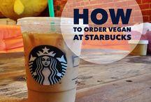 Vegan Starbucks / Did you know the mocha sauce is vegan?! Find out how to order vegan at Starbucks here: http://peta2.me/veganstarbucks