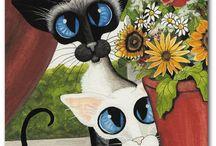 Gato Siameses, Zenopus, ym kuvia