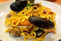 Seafood in Rome