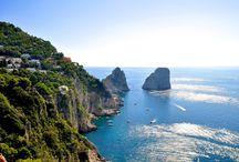 Capri Italien / Insel Capri Italien Europa Natur Landschaft Meer Sonne Schönheit Urlaub Reise Travel